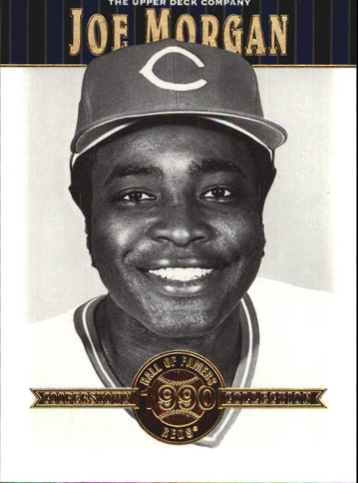 2001 Upper Deck Hall of Famers #37 Joe Morgan