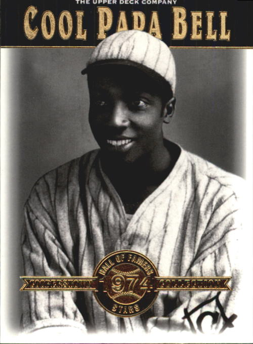 2001 Upper Deck Hall of Famers #40 Cool Papa Bell