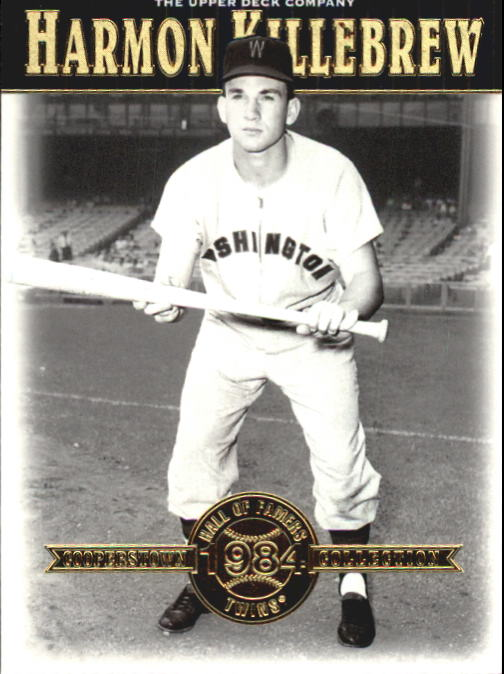 2001 Upper Deck Hall of Famers #43 Harmon Killebrew front image