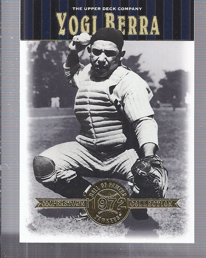 2001 Upper Deck Hall of Famers #45 Yogi Berra