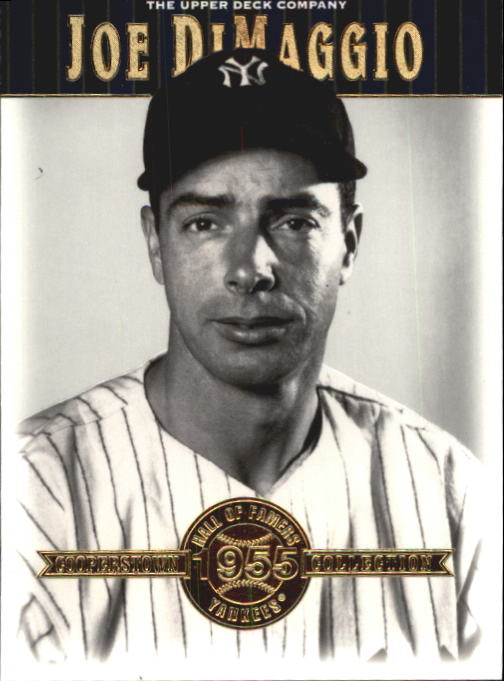 2001 Upper Deck Hall of Famers #46 Joe DiMaggio front image