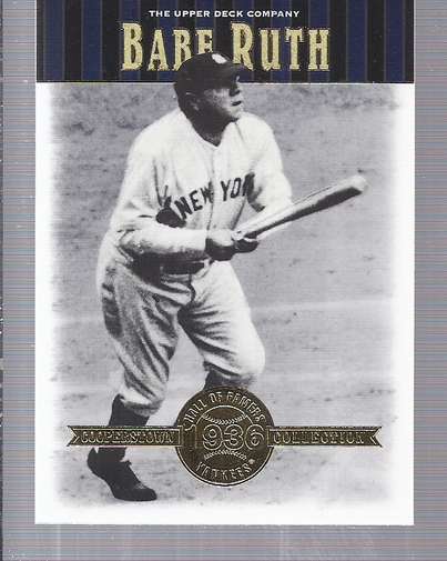 2001 Upper Deck Hall of Famers #50 Babe Ruth