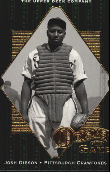 2001 Upper Deck Hall of Famers #51 Josh Gibson OG