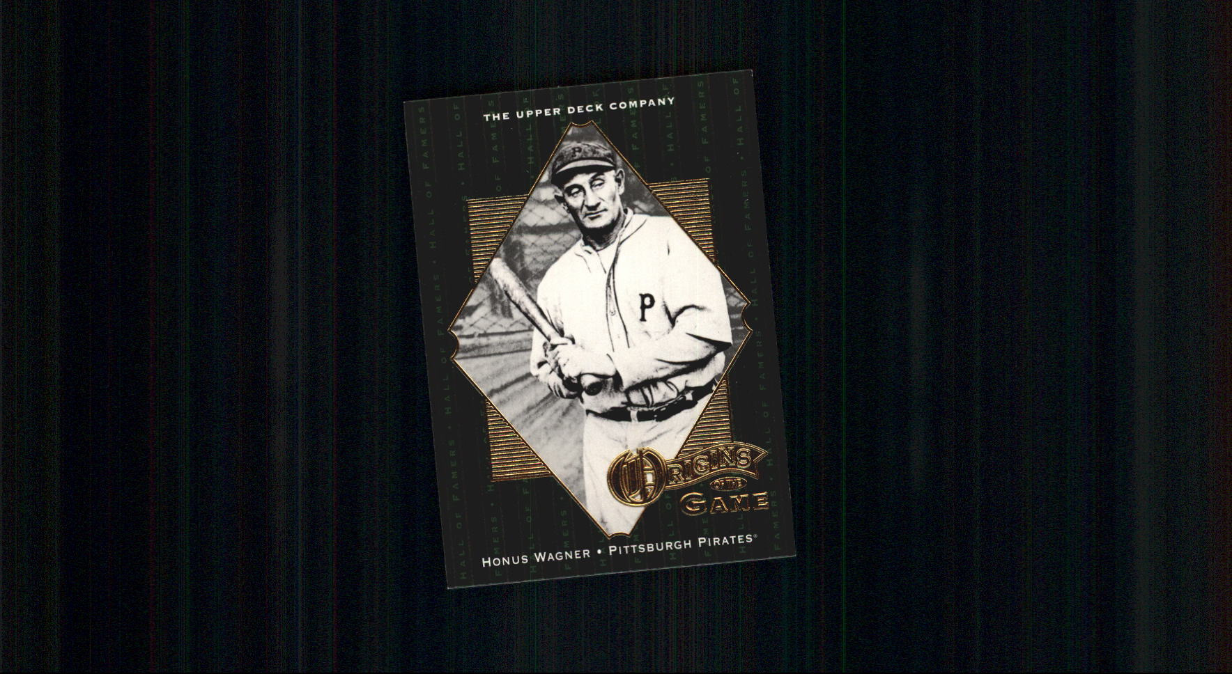 2001 Upper Deck Hall of Famers #52 Honus Wagner OG