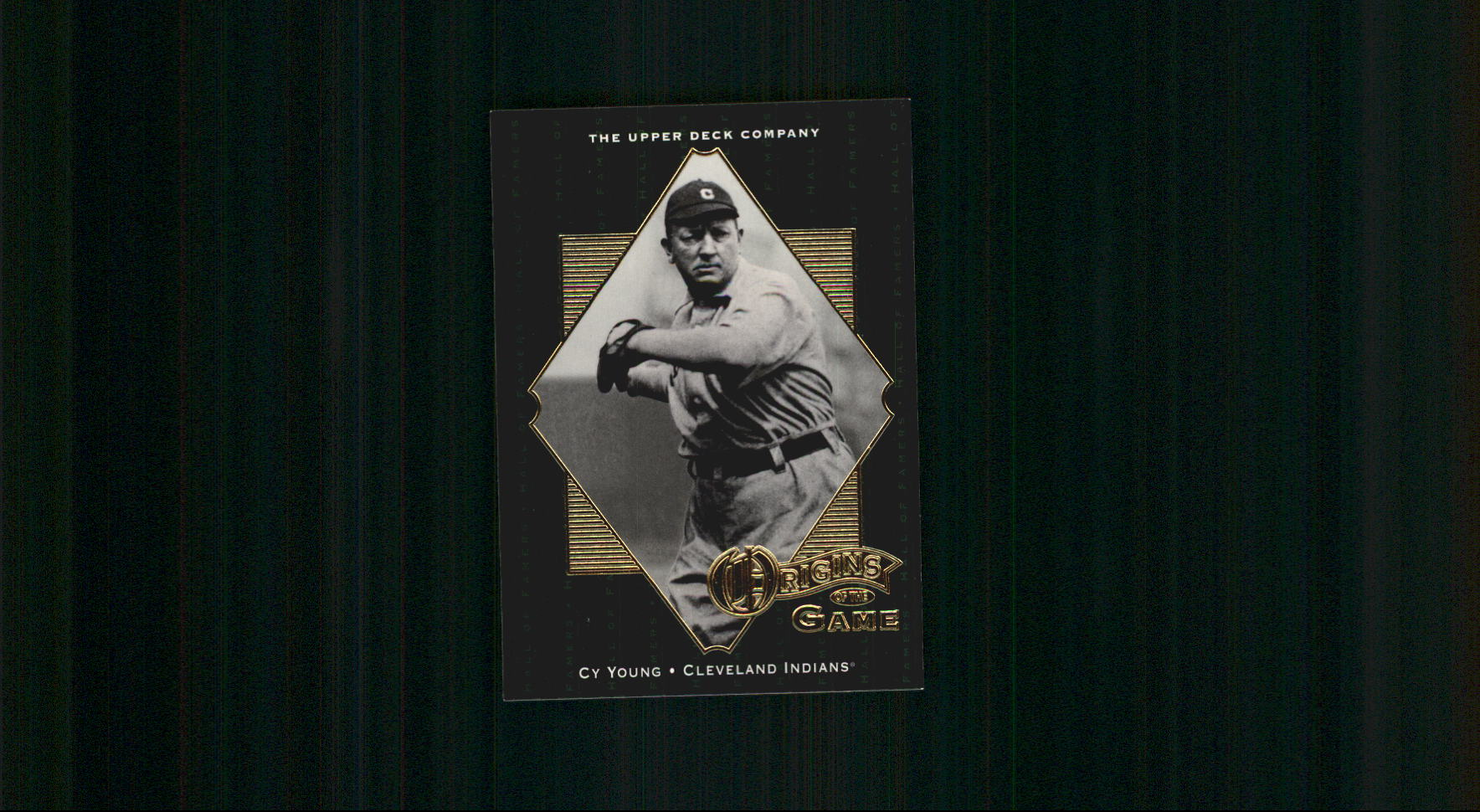 2001 Upper Deck Hall of Famers #54 Cy Young OG