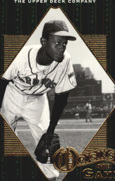2001 Upper Deck Hall of Famers #56 Satchel Paige OG front image