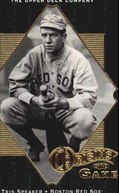 2001 Upper Deck Hall of Famers #59 Tris Speaker OG