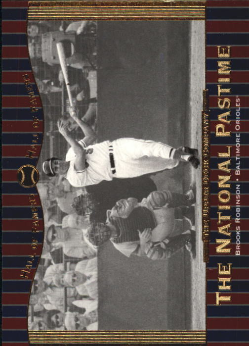 2001 Upper Deck Hall of Famers #66 Brooks Robinson NP front image
