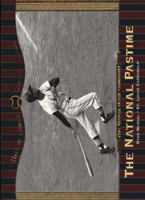 2001 Upper Deck Hall of Famers #67 Stan Musial NP