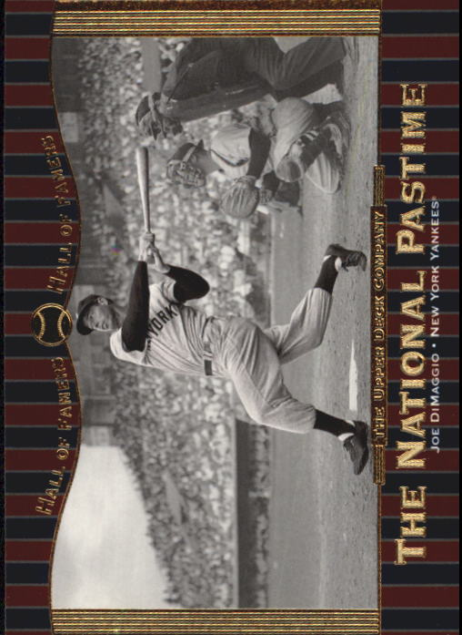 2001 Upper Deck Hall of Famers #69 Joe DiMaggio NP front image