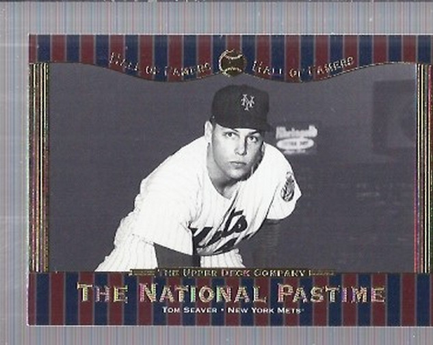 2001 Upper Deck Hall of Famers #79 Tom Seaver NP
