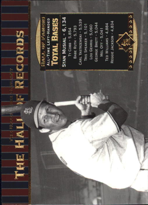 2001 Upper Deck Hall of Famers #84 Stan Musial HR