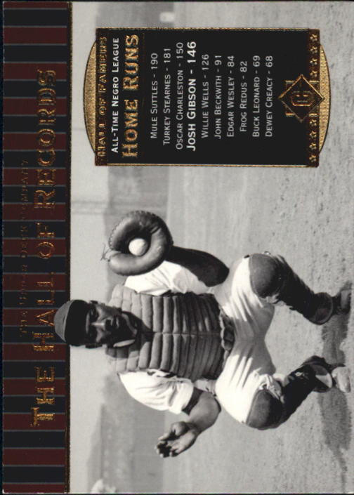 2001 Upper Deck Hall of Famers #85 Josh Gibson HR