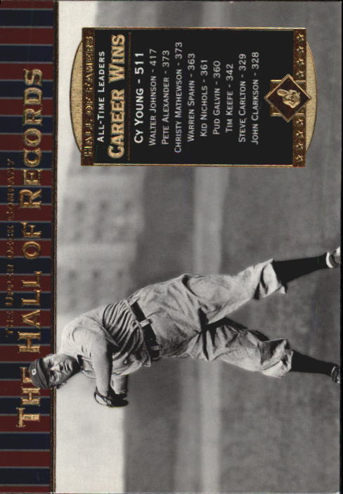 2001 Upper Deck Hall of Famers #86 Cy Young HR