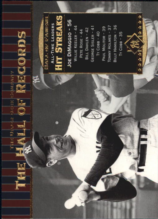 2001 Upper Deck Hall of Famers #87 Joe DiMaggio HR front image