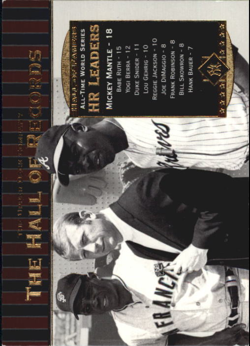 2001 Upper Deck Hall of Famers #90 Mickey Mantle HR