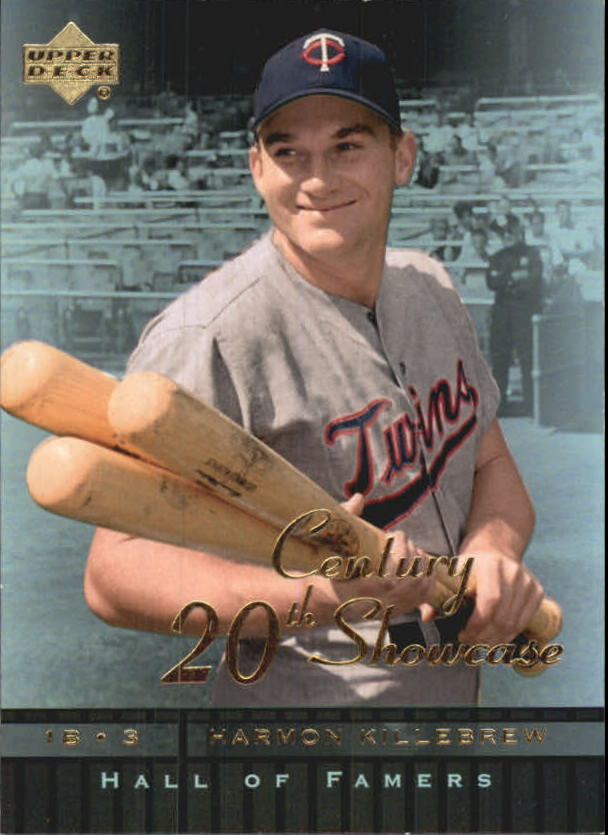 2001 Upper Deck Hall of Famers 20th Century Showcase #S3 Harmon Killebrew