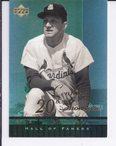 2001 Upper Deck Hall of Famers 20th Century Showcase #S4 Stan Musial