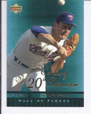 2001 Upper Deck Hall of Famers 20th Century Showcase #S7 Nolan Ryan