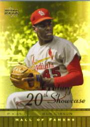 2001 Upper Deck Hall of Famers 20th Century Showcase #S8 Bob Gibson