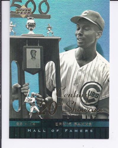2001 Upper Deck Hall of Famers 20th Century Showcase #S9 Ernie Banks