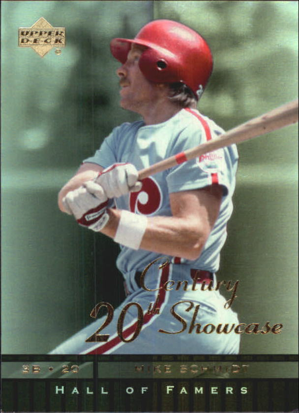 2001 Upper Deck Hall of Famers 20th Century Showcase #S10 Mike Schmidt
