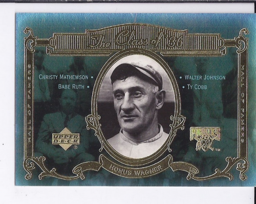 2001 Upper Deck Hall of Famers Class of '36 #C5 Honus Wagner