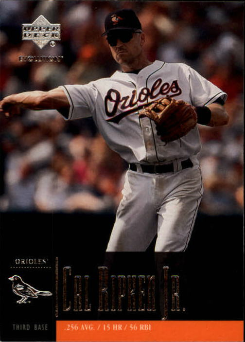 2001 Upper Deck Evolution #18 Cal Ripken