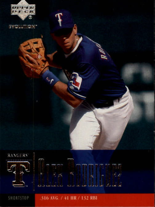 2001 Upper Deck Evolution #19 Alex Rodriguez