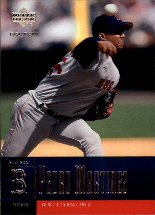 2001 Upper Deck Evolution #22 Pedro Martinez