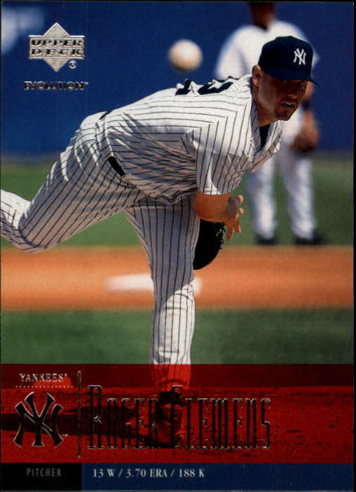 2001 Upper Deck Evolution #39 Roger Clemens