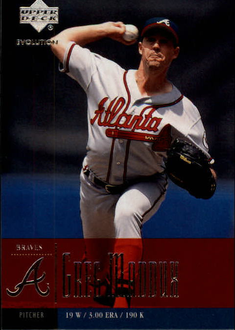 2001 Upper Deck Evolution #45 Greg Maddux
