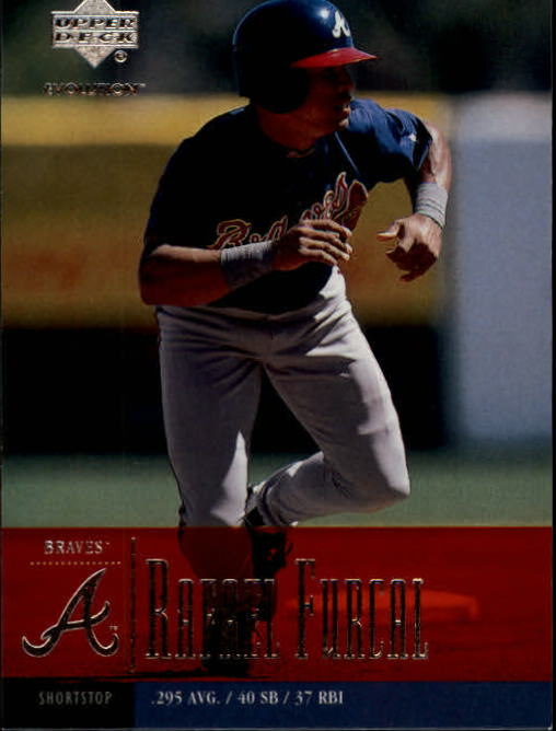 2001 Upper Deck Evolution #47 Rafael Furcal