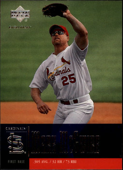 2001 Upper Deck Evolution #52 Mark McGwire