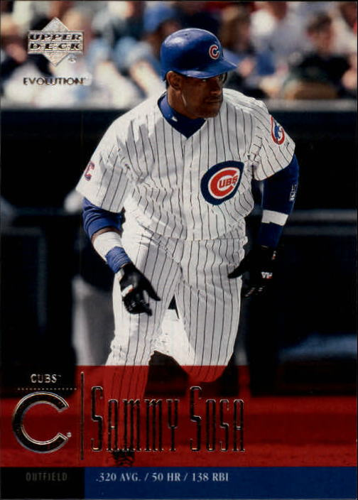 2001 Upper Deck Evolution #56 Sammy Sosa