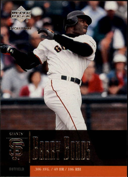 2001 Upper Deck Evolution #68 Barry Bonds