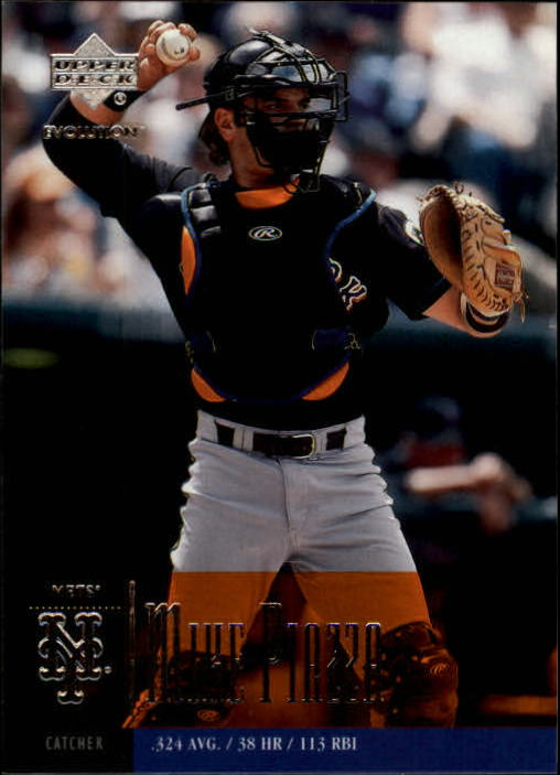 2001 Upper Deck Evolution #74 Mike Piazza