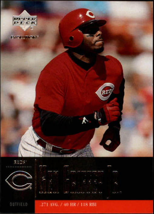 2001 Upper Deck Evolution #85 Ken Griffey Jr.