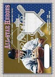 2001 Upper Deck All-Star Heroes Memorabilia #ASHAR A.Rodriguez Bat/1998