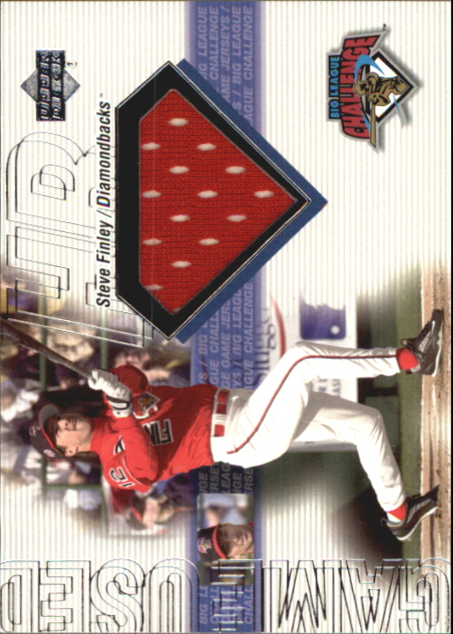 2001 Upper Deck Big League Challenge Game Jerseys #BLCSF Steve Finley