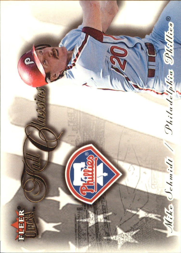 2001 Ultra Fall Classics #FC24 Mike Schmidt