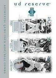 2001 UD Reserve Ball-Base Trios #SGM Sammy Sosa/Ken Griffey Jr./Mark McGwire
