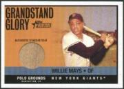 2001 Topps Heritage Grandstand Glory #WM Willie Mays