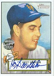 2001 Topps Heritage Autographs #THAHW Hoyt Wilhelm