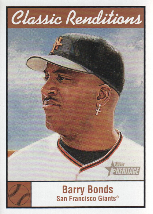2001 Topps Heritage Classic Renditions #CR3 Barry Bonds