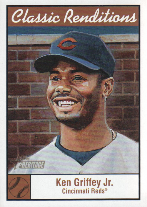 2001 Topps Heritage Classic Renditions #CR10 Ken Griffey Jr.