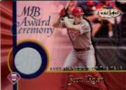 2001 Topps Gold Label MLB Award Ceremony Relics #SR Scott Rolen ROY Jsy