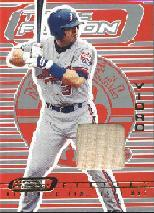 2001 Topps Fusion Feature #F11 Jose Vidro Bat