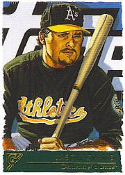 2001 Topps Gallery #12 Jason Giambi