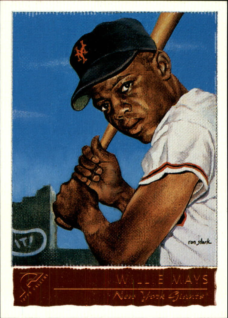 2001 Topps Gallery #50 Willie Mays HTA